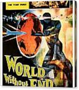 World Without End 1956 Canvas Print