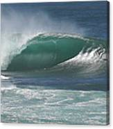 World's Most Perfect Wave . . . Canvas Print