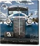 Worm Truck Canvas Print