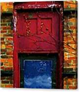 Wormhole Window Canvas Print