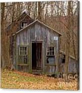 Worn Out Shed Canvas Print