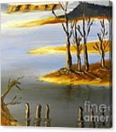 Woronorda Dam Canvas Print