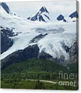Worthington Glacier Canvas Print