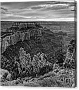 Wotan's Throne North Rim Grand Canyon National Park - Arizona Canvas Print