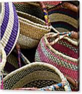 Woven Baskets Canvas Print