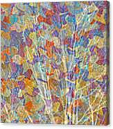 Woven Branches Long Canvas Print