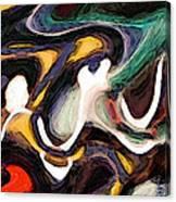 Woven Through 2 Canvas Print