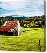 Wow - The Grass Is Greener On The Other Side Canvas Print