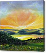 Wrapped In Light Canvas Print