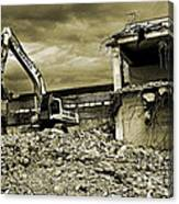 Wreck And Ruin Canvas Print