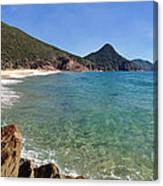 Wreck Beach Shoal Bay Port Stephens Canvas Print
