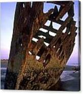 Wreck Of The Peter Iredale Canvas Print