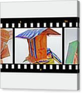 Wreckage Strip Canvas Print