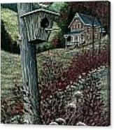 Wren House Canvas Print