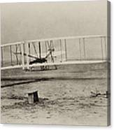 Wright Brothers - First In Flight Canvas Print