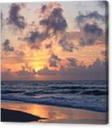 Wrightsville Beach Sunrise Canvas Print