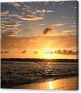 Wrightsville Beach Sunset Canvas Print