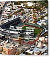 Wrigley Field Chicago Sports 01 Canvas Print
