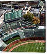 Wrigley Field Chicago Sports 04 Canvas Print