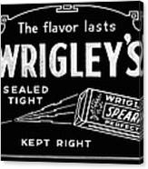 Wrigleys Spearmint Gum Canvas Print