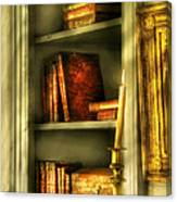 Writer - In The Library  Canvas Print