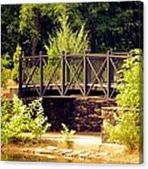 Wrought Iron Bridge Canvas Print