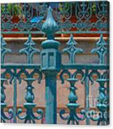 Wrought Iron Fence Canvas Print