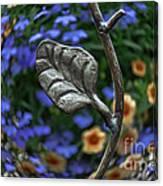 Wrought Iron Garden Canvas Print