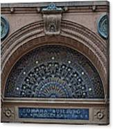 Wrought Iron Grille - The Omaha Building Canvas Print