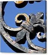 Wrought Iron Canvas Print