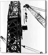 Wtc Fueling Crane  Canvas Print