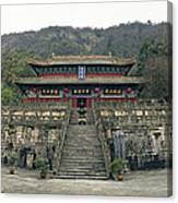 Wudangshan - Zhishaodian Canvas Print