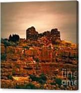 Wupatki National Monument-ruins V13 Canvas Print