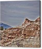 Wupatki National Monument-ruins V15 Canvas Print