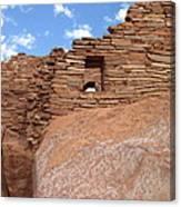 Wupatki Pueblo Ruin Canvas Print