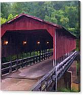 Wv Covered Bridge Canvas Print