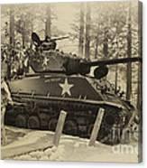 Ww II Battle Of The Bulge 02 Canvas Print
