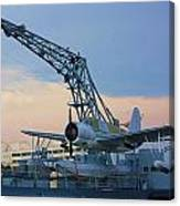 Ww II Sea Plane Canvas Print