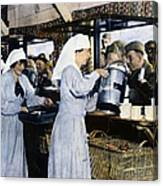 Ww1: Red Cross, 1918 Canvas Print