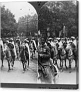 Wwi Moroccan Troops Canvas Print