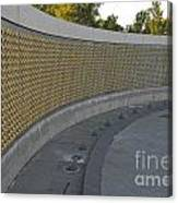Wwii Memorial Stars Canvas Print