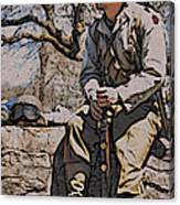 Wwii Soldier Two Canvas Print
