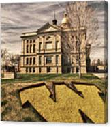 Wyoming Capitol Building Canvas Print