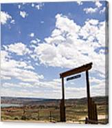 Wyoming Ranch Canvas Print