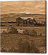 Wyoming West Canvas Print