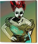 Wyrd Girl Canvas Print