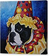 Wyze Clown Canvas Print