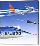X-15 Launch Canvas Print