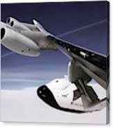 X-38 Spacecraft On B-52 Wing Canvas Print