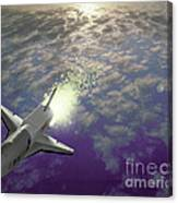 X34 Aircraft Canvas Print